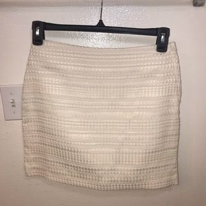 New H&M mini skirt